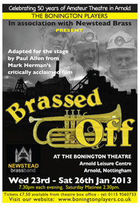 Brassed Off January 2013 - The Bonington Players