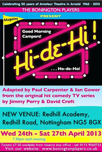 Hi-de-Hi! - A Bonington Players Production